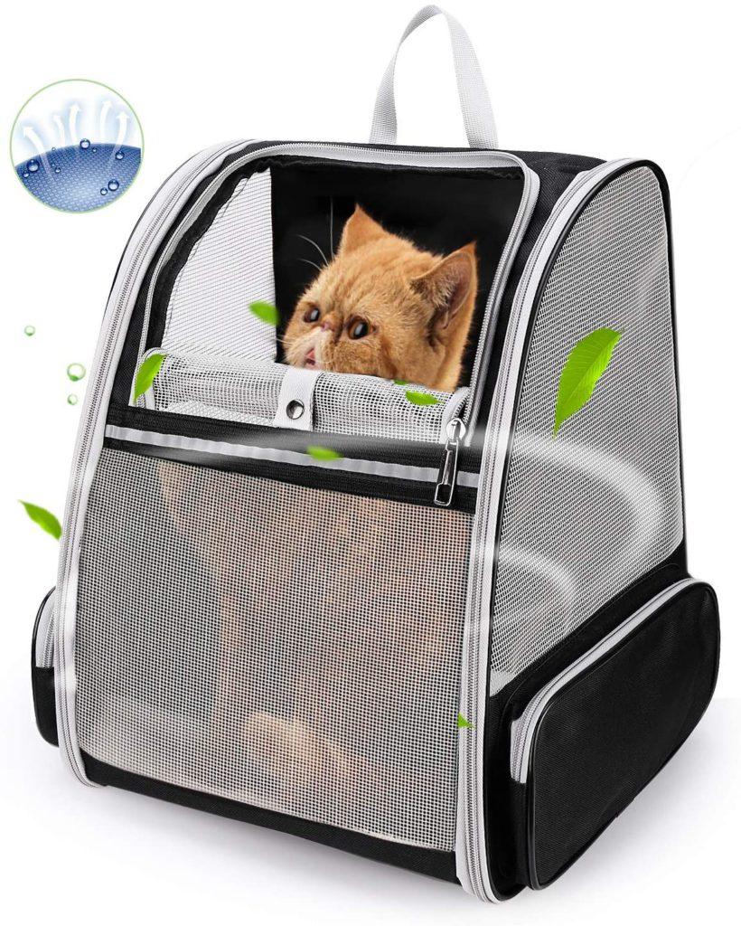Lollimeow Pet Carrier Backpack for Cats