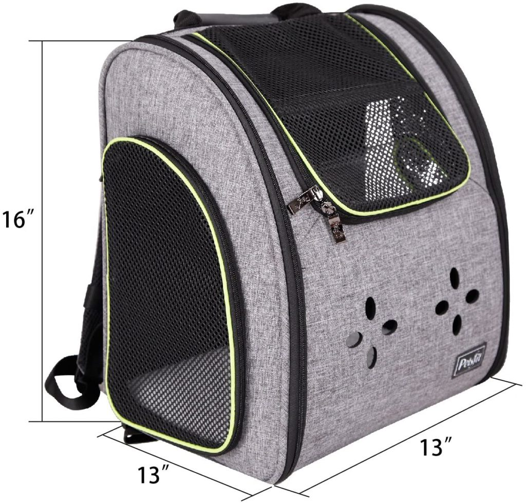 Petsfit Dogs Carriers Backpack for Cat